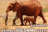 Animals Jigsaw Puzzle Elephant