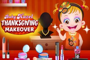 Baby Hazel Thanksgiving Makeov