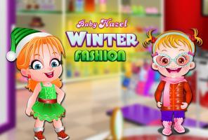 Moda de inverno Baby Hazel