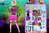 Barbie Halloween Night