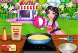 焦糖夹心蛋糕烹饪