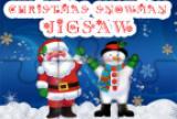 Christmas Snowman Jigsaw Puzzl