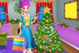 Decoração da árvore de Natal e