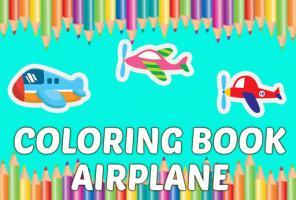Coloring Book Airplane