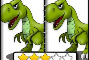 Dinosaur Spot The Difference