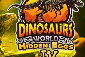 Dinosaurs World Hidden Eggs Pa