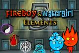 Fireboy and Watergirl 5 Elemen
