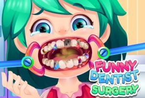 Cirurgia Dentista Engraçada