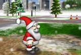 Give a garmin santa claus