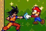 Goku vs mario bros