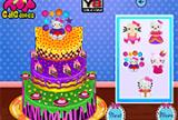 Hello Kitty Inspired Cake
