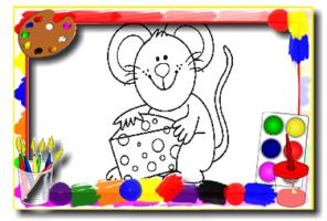 Kids Cartoon Coloring Book