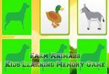 Kids Learning Farm Animals Mem