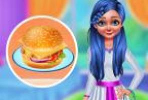Making Homemade Veg Burger