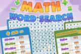 Busca de palabras matemáticas