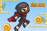 Mini xogo Ninja Jump