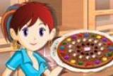 Pizza de chocolate cocina con sara