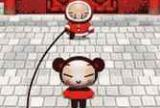 Pucca jumping rope
