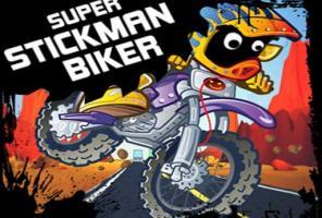 """""""Super Stickman"""" baikeris"""